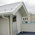開放的な屋上への出入り口